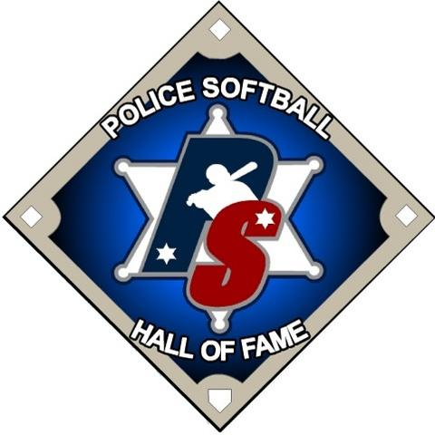 PoliceSoftball.com Hall of Fame Logo