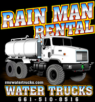 Rain Man Water Truck Rental